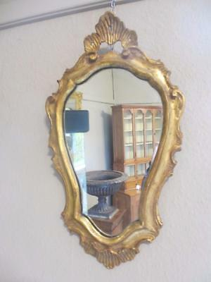 Small Gilt Frame Mirror circa 1910 WNC02500