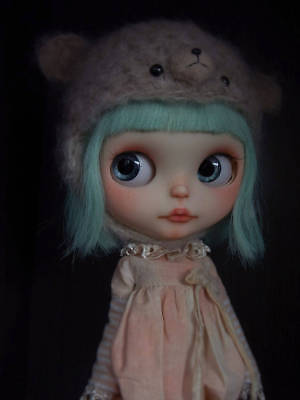 Custom Blythe OOAK Repaint by deDolly Artist Doll Factory Flection Licca Pullip