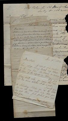 FOUR Civil War Letters, 69th New York Infantry, Battle Content, WELL RESEARCHED!