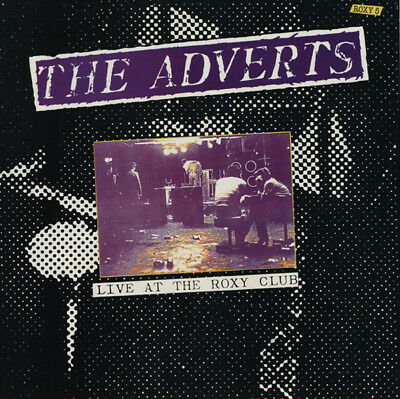The Adverts Live At The Roxy 1990 CD