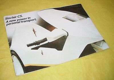 Sinclair  C5 Original Sales Brochure