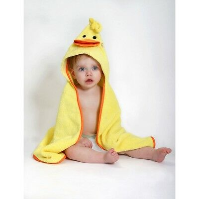 Zoocchini Baby Towel - Puddles the Duck