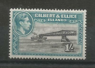 Arcade 99p A Nice Gilbert & Ellice Is 1939 1 Shilling Mint Issue