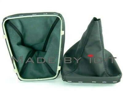100% leather gear stick gaiter boot BMW 3 E36 Compact from ICT plastic frame C