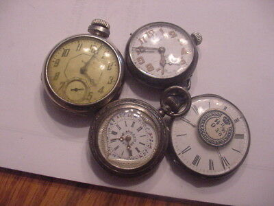 Pocket Watches Small Swiss and One Tip Top  34 to 45 mm take a look 3 Silver