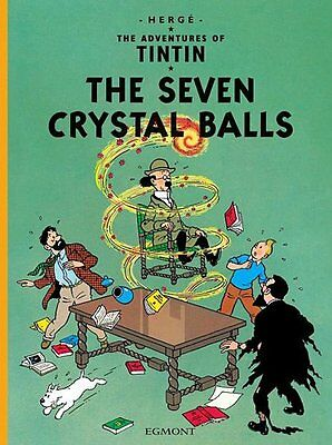 The Seven Crystal Balls (The Adventures of Tintin) New Paperback Book Herge