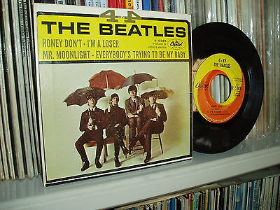 THE BEATLES EP Four by Four CAPITOL Orig pressing USA