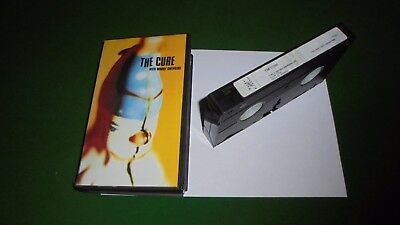 THE CURE - WILD MOOD SWINGS - RARE PRESS KIT VIDEO EPK , wild moody swinging