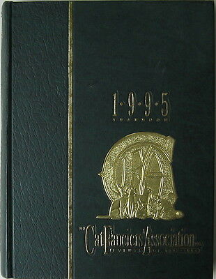 Vintage Cat Book  The Cat Fanciiers' Association Inc.  1995 Yearbook