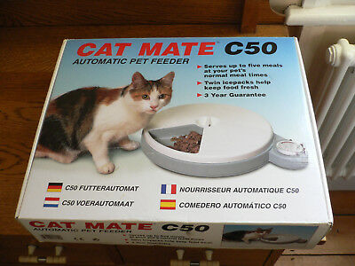 Catmate C50 Automated Pet Feeder