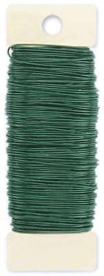 Paddle Wire 22 Gauge 4oz Green 093432522202