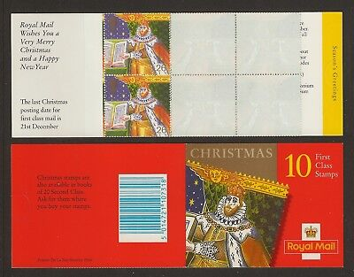 GB Stamps: 1999 Christmas  Booklet LX17.