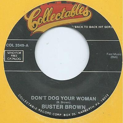 Buster Brown - Dont Dog Your Woman