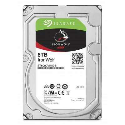 39039 Hdd Seagate Ironwolf Nas St6000Vn0041 6Tb Sata Iii 128Mb (D)