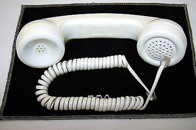 AT & T Handset receiver and cord new White