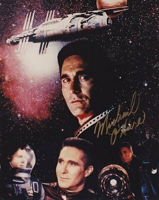 BABYLON 5 CMDR SINCLAIR MICHAEL O'HARE COLLAGE hand signed
