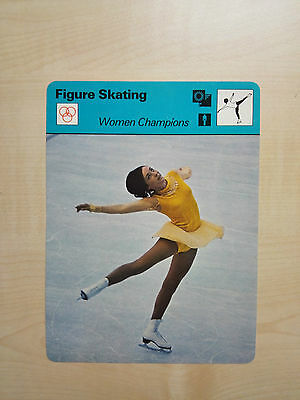 FIGURE SKATING - Womens Champions - Sportscaster Rencontre Card