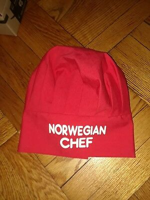 NORWEGIAN CHEF red chef's hat