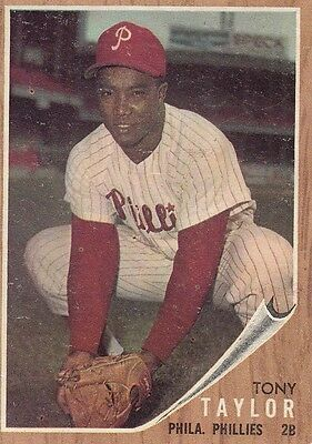Topps 1962 #77 Tony Taylor-Philadelphia Phillies