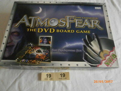 Atmosfear (Atmosphere) 'the Gatekeeper' Dvd Board Game. Complete And Boxed