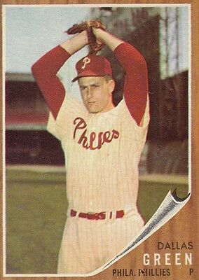 Topps 1962 #111 Dallas Green-Philadelphia Phillies