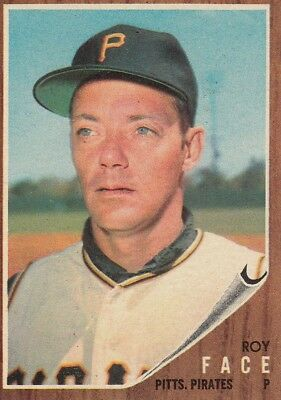 Topps 1962 #210 Roy Face-Pittsburgh Pirates