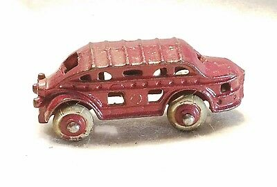 Vintage Hubley Cast Iron Pickwick Nite Coach Bus