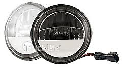 """Pair of Truck-Lite 80275 Round LED 4-1/2"""" Auxilary Passing Drive Lights Harley"""