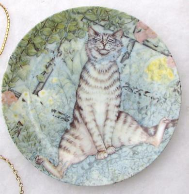 The Sniffer American Artists Zoe's Cats Plate