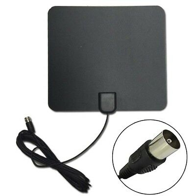 35 miles Thin Flat Indoor Antenna HD High TV Fox Scout HDTV VHF UHF DTV TV Scout