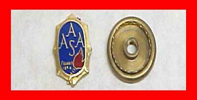 American Association School Administrators Aasa Lapel Pin Teacher Educator