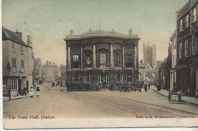Postcard .The Town Hall, Devizes
