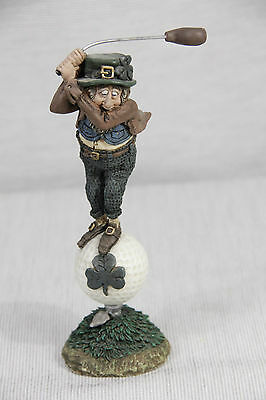 Vintage BERTIE on the BALL golf figurine FINNIANS Blarney Stone Enterprises MINT