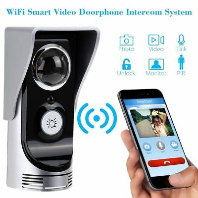 Smart Phone Remote Wireless WiFi Video Door Phone Bell Doorbell Home Security US