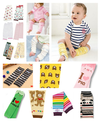 Multicolor Baby Toddler Girl Boy Leggings Long Socks Arm Leg Warmers New