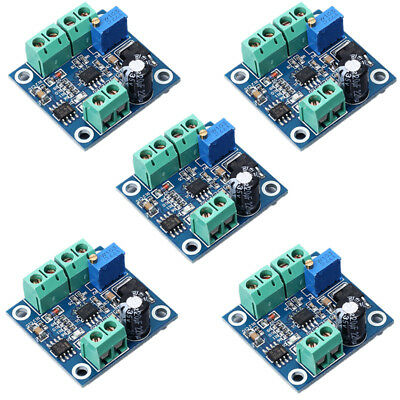 5Pcs Frequency to Voltage 0-1KHz To 0-10V Digital To Analog Voltage Converter