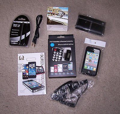 APPLE iPOD iPHONE 3/3GS  ACCESSORY PACKAGE  ~ NEW