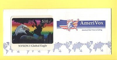 AmeriVox GallingCard - NYSON I Global Eagle 10$