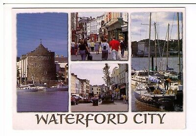 Postcard: Multiview - Waterford City, Ireland