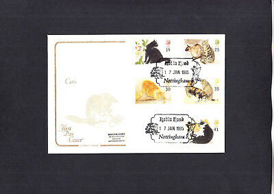 1995 Cats Cotswold FDC with Robin Hood Nottingham H/S