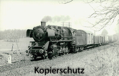 Original Dampflok Foto - 50 1195, Bischofswerda, April 1970