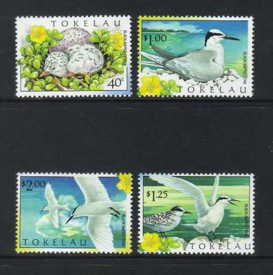 Tokelau 1999 Black-Naped Tern Mnh Set Of 4