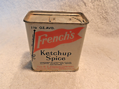 Vintage French's Ketchup Spice Tin