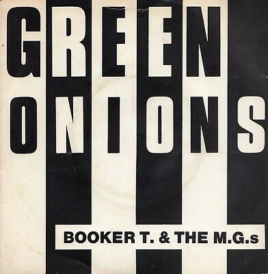 """BOOKER T. AND THE MG's - GREEN ONIONS - PS - 70's SOUL - 7"""" VINYL"""