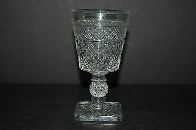Imperial Glass Cape Cod Clear Wine Glass
