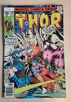 The Mighty Thor #260 FN/VF Bronze Age Comic Uncurculated