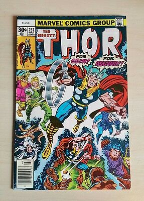 The Mighty Thor #257 VF Bronze Age Comic Uncurculated