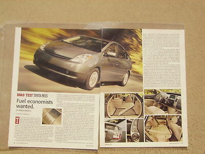 2004 Toyota Prius ***original Article / Road Test***