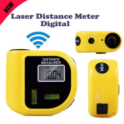 Digital Laser Distance Meter Ultrasonic Range Finder Measure Tape Diastimeter
