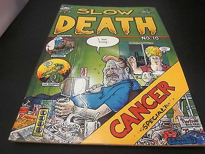 Slow Death #10 1979 Last Gasp by Greg Irons and Others Great Condition Comic